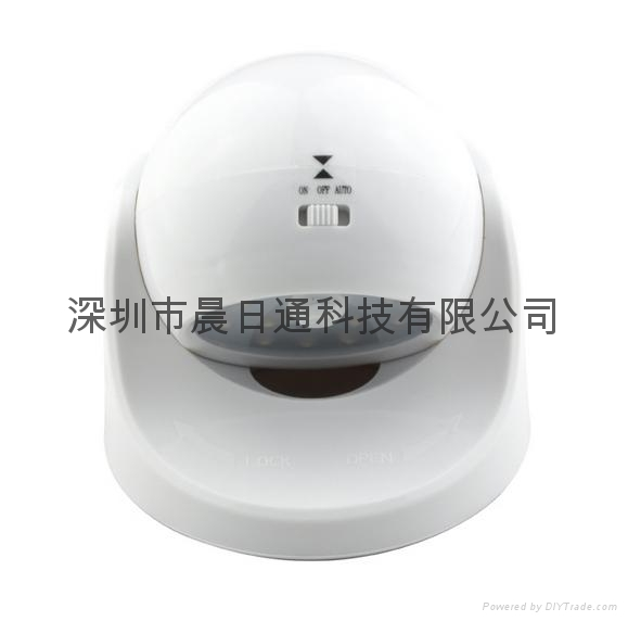 360 Degree Rotating LED Human Body Infrared Motion Sensor Night Light 5