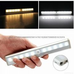 鋁合金長條人體感應抽屜燈櫥櫃燈