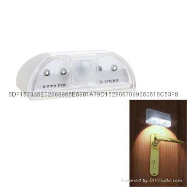 自動感應門鎖燈人體感應門鎖燈 1