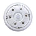 6 LED Wireless Infrared PIR Auto Sensor Motion Detector Battery  5