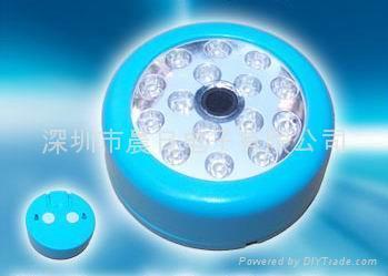 15LED声控感应灯声控衣柜灯 2