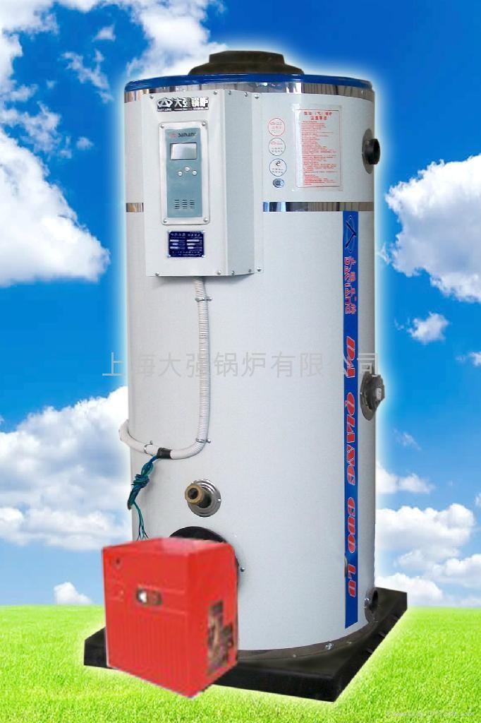 上海大強鍋爐廠家直銷環保節能燃氣熱水鍋爐 1