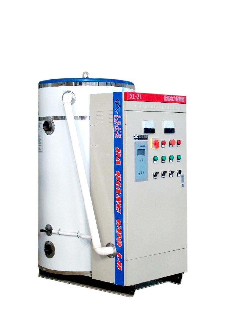 上海大强锅炉直销洗浴专用电热水炉无压锅炉 1