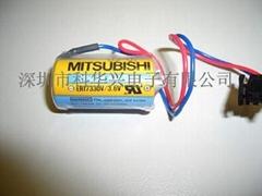 三菱控制器人机电池
