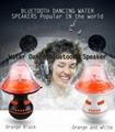 Bluetooth dancing water speaker