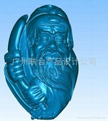 塑料制品抄數3D 廣州產品抄數建模 五金模具