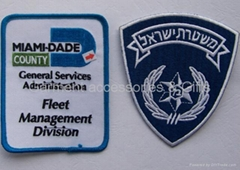 Embroideried patch