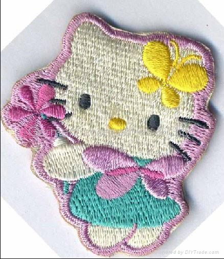Embroidery badge & Embroideried patch 1