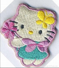 Embroidery badge & Embroideried patch