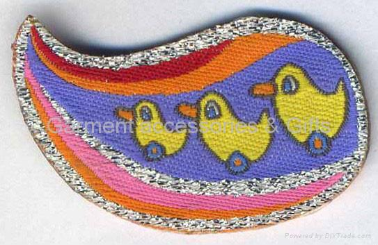 Embroidery badge & Embroideried patch 4