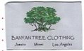 Damask label non-woven care label  4