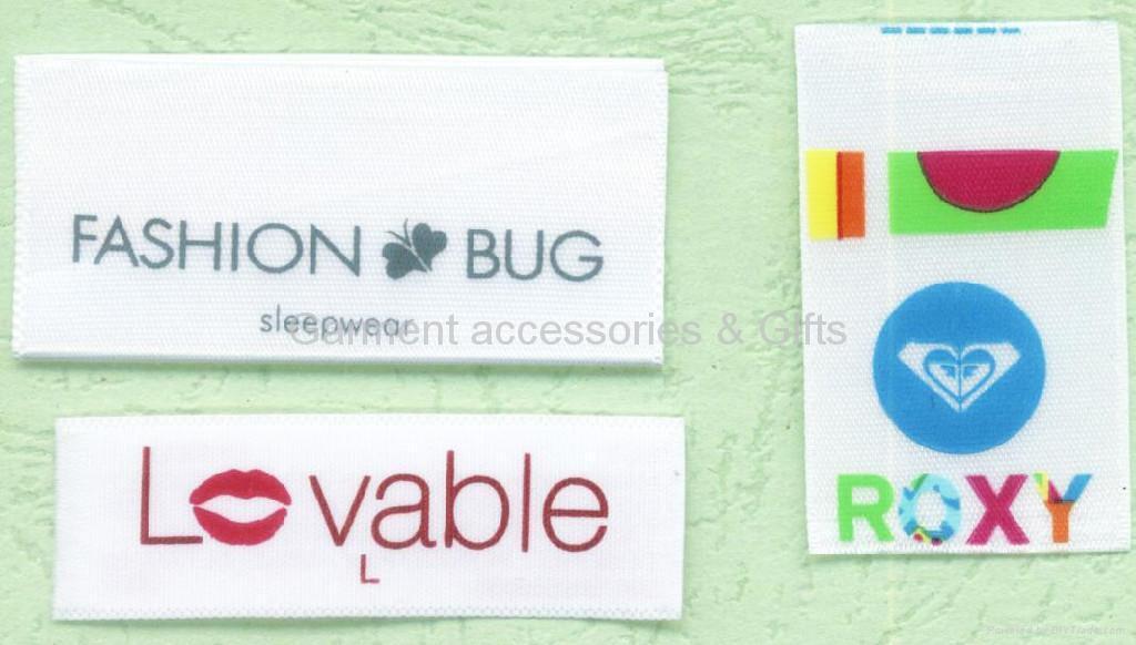 Printed label-care label-brand label 2