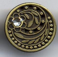 Metal alloy button