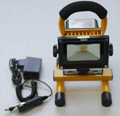 10W可充電投光燈