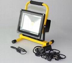 30W可充電投光燈