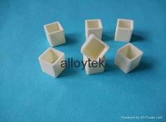 氧化鋯陶瓷光路外殼氧化鋁陶瓷坩堝匣缽加工