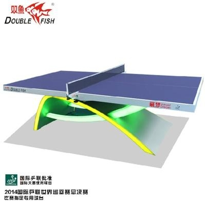 雙魚牌移動式乒乓球台 4