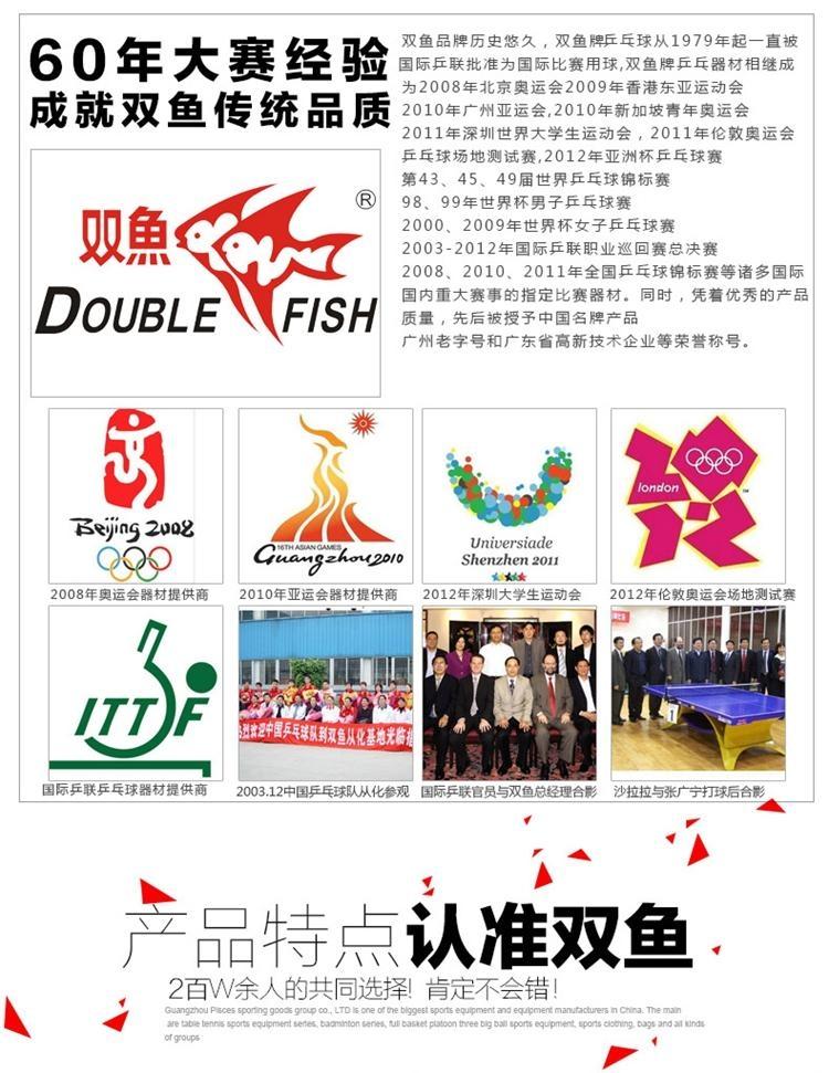 雙魚牌移動式乒乓球台 5