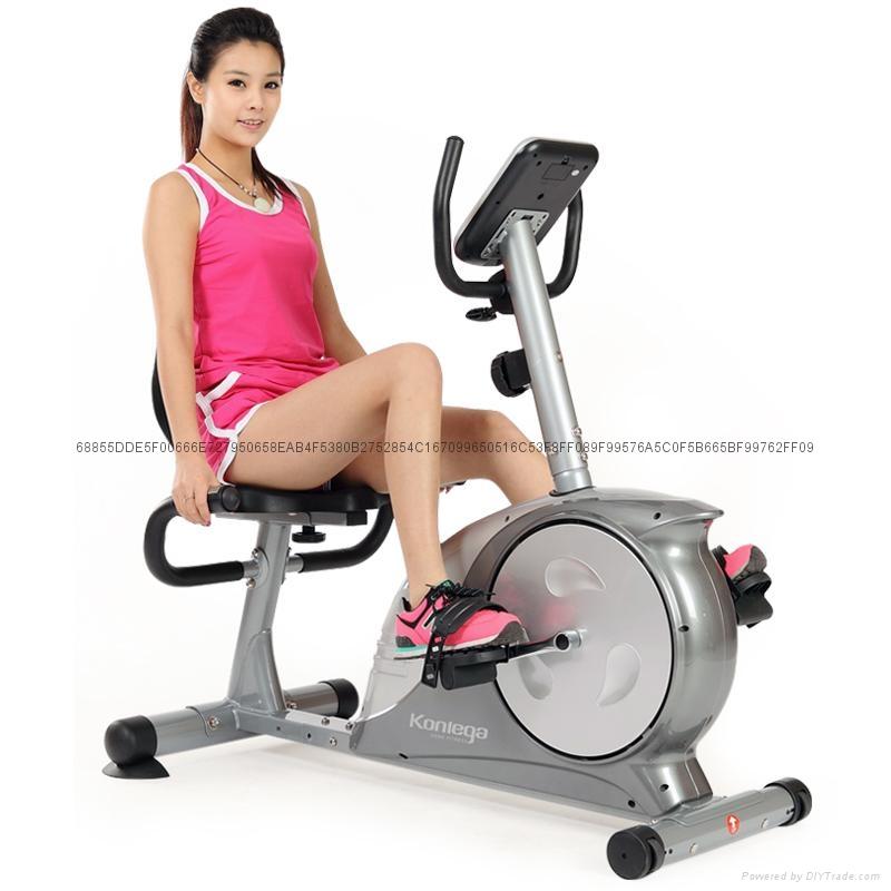商用卧式电控健身车 3