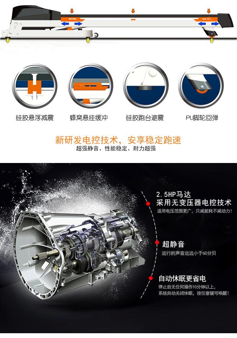 KL903S尊貴型云智能跑步機 2