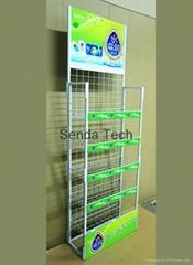Metal retailers makeup display stand SD-002