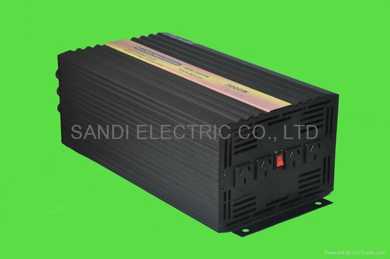 3000W Pure Sine Wave Inverter 12V/24VDC to 230VAC
