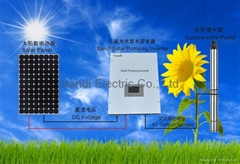 Solar Water Pump Inverter with MPPT Tracker