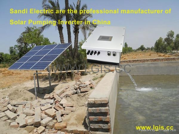 wall mounted Solar irrigation Water Pump Inverter with CE Approved