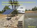 光伏水泵逆变器将光伏阵列输出的直流电转换为交流电并驱动水泵