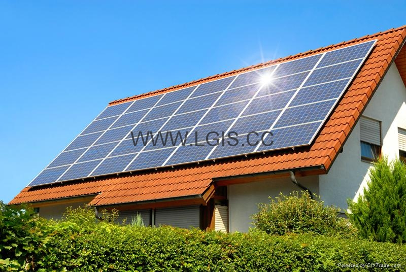 20KW complete solar off grid home system 3