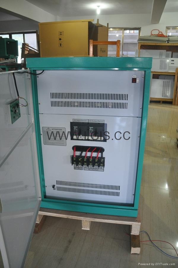 200KW off grid inverter with solar input 400-850VDC without battery system 4