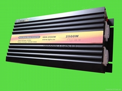 2500W Pure Sine Wave Inverter 12V/24Vdc to 230Vac