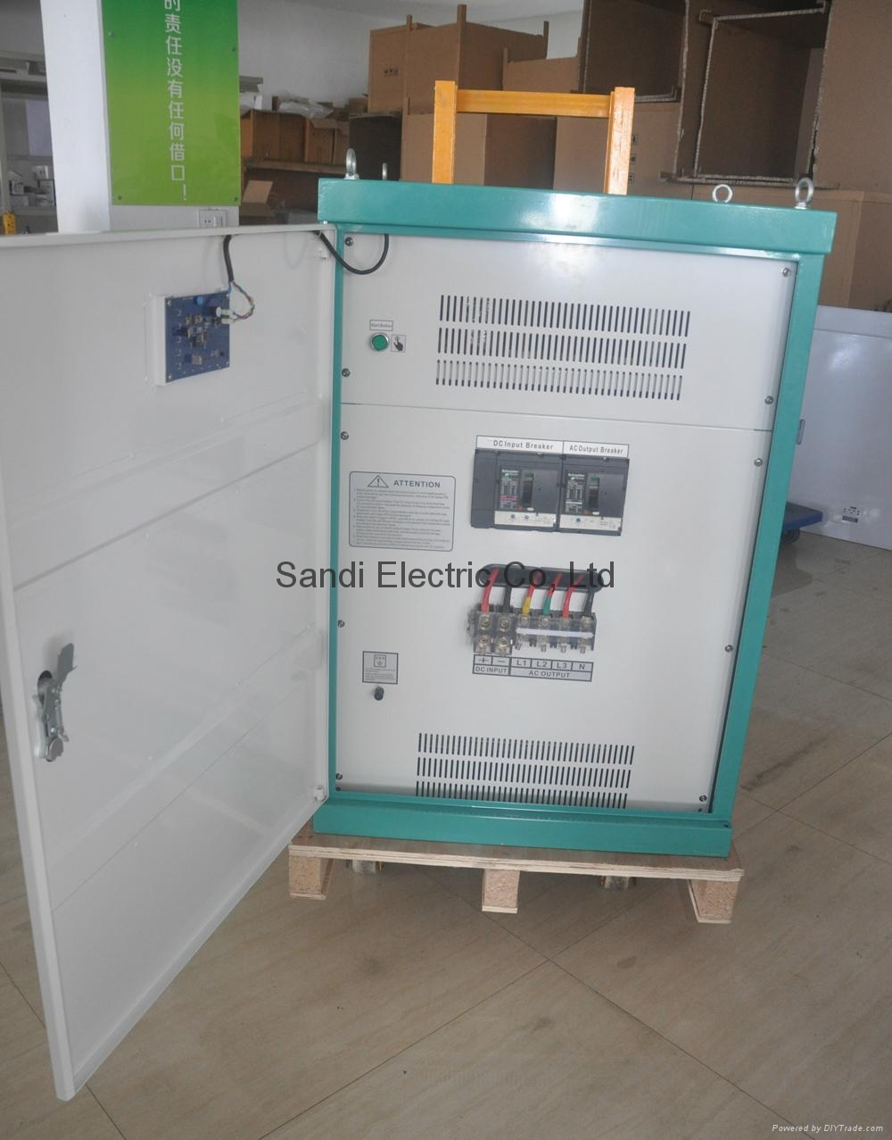 SANDI low frequency 3 phase power inverter factory