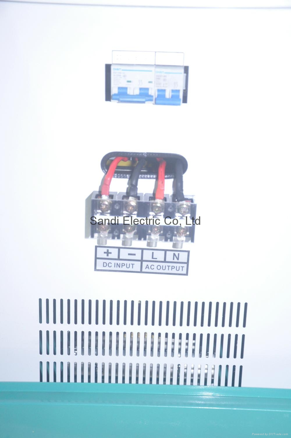 inductive motor big power inverter