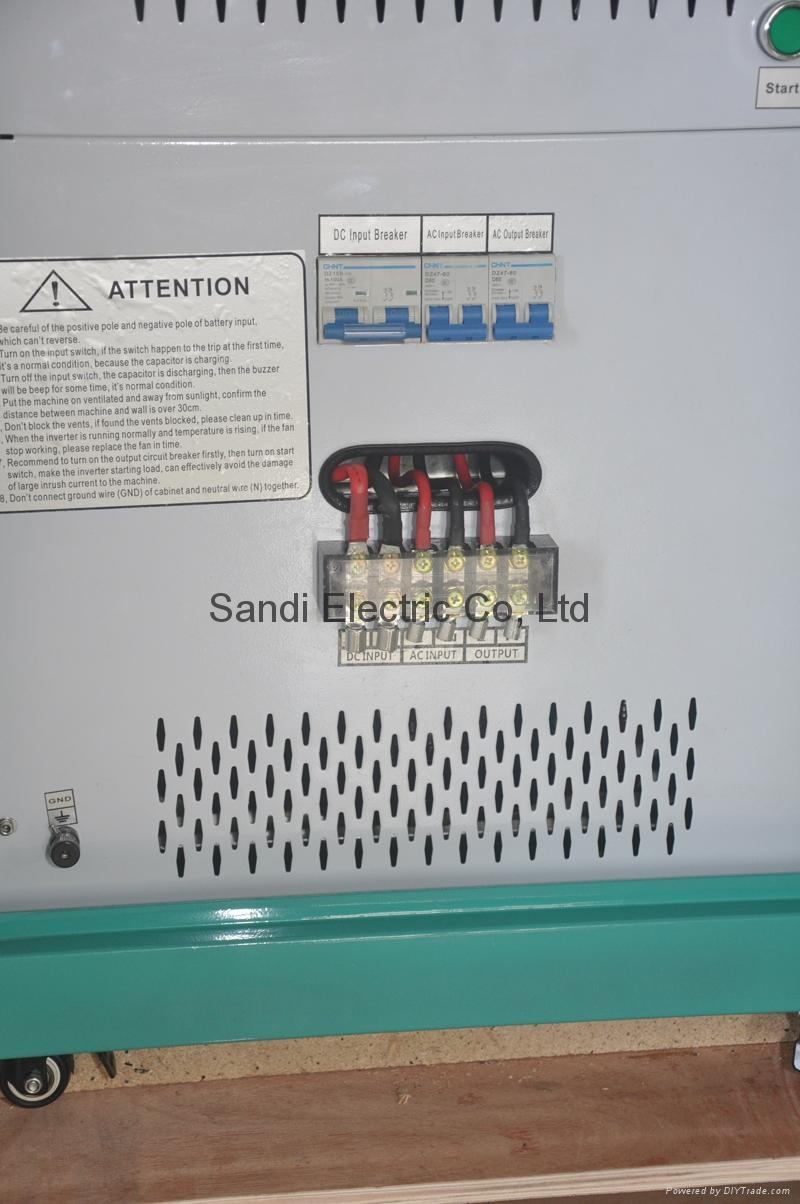 solar inverter with powerfull