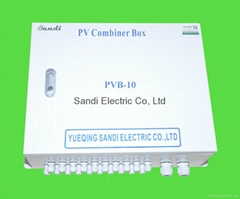 9 Strings for PV Combiner box IP65 Outdoor Use