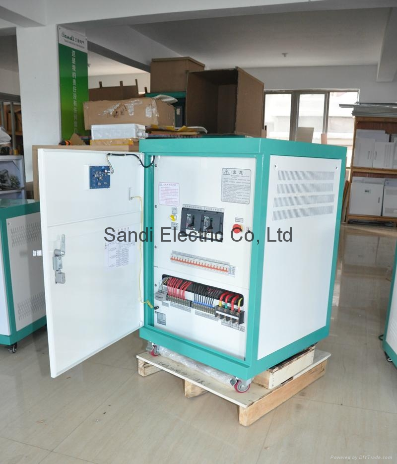 High efficiency solar pumping inverter for agricultural irrigation