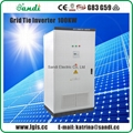 100KW Grid Tie Solar Inverter with VDE4105/EN62109