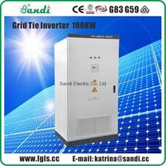 100KW Grid Tie Solar Inverter with VDE4105/EN62109