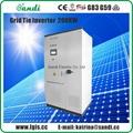 Solar power inverter on grid inverter