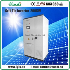 200kW Solar On Grid Inverter for solar panels system