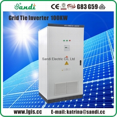 100kW Grid tied solar power inverter