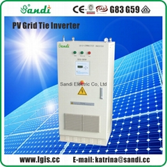 10KW Thin-film module special grid-tied inverter