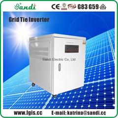20KW Grid-Tie PV Inverter with MPPT