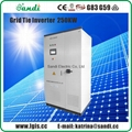 250kw central inverter solar on grid inverter manufacturer