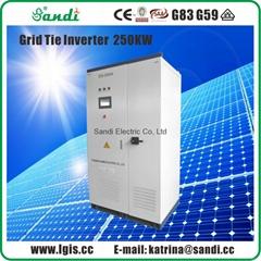 250kw central inverter solar on grid inverter manufacturer