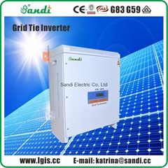 10KW PV grid tie power inverter with 3