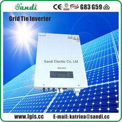 High Efficiency Solar Grid Tie Inverter 4000W