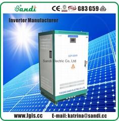 60KW太陽能離網逆變器純正弦波輸出帶市電旁路輸入
