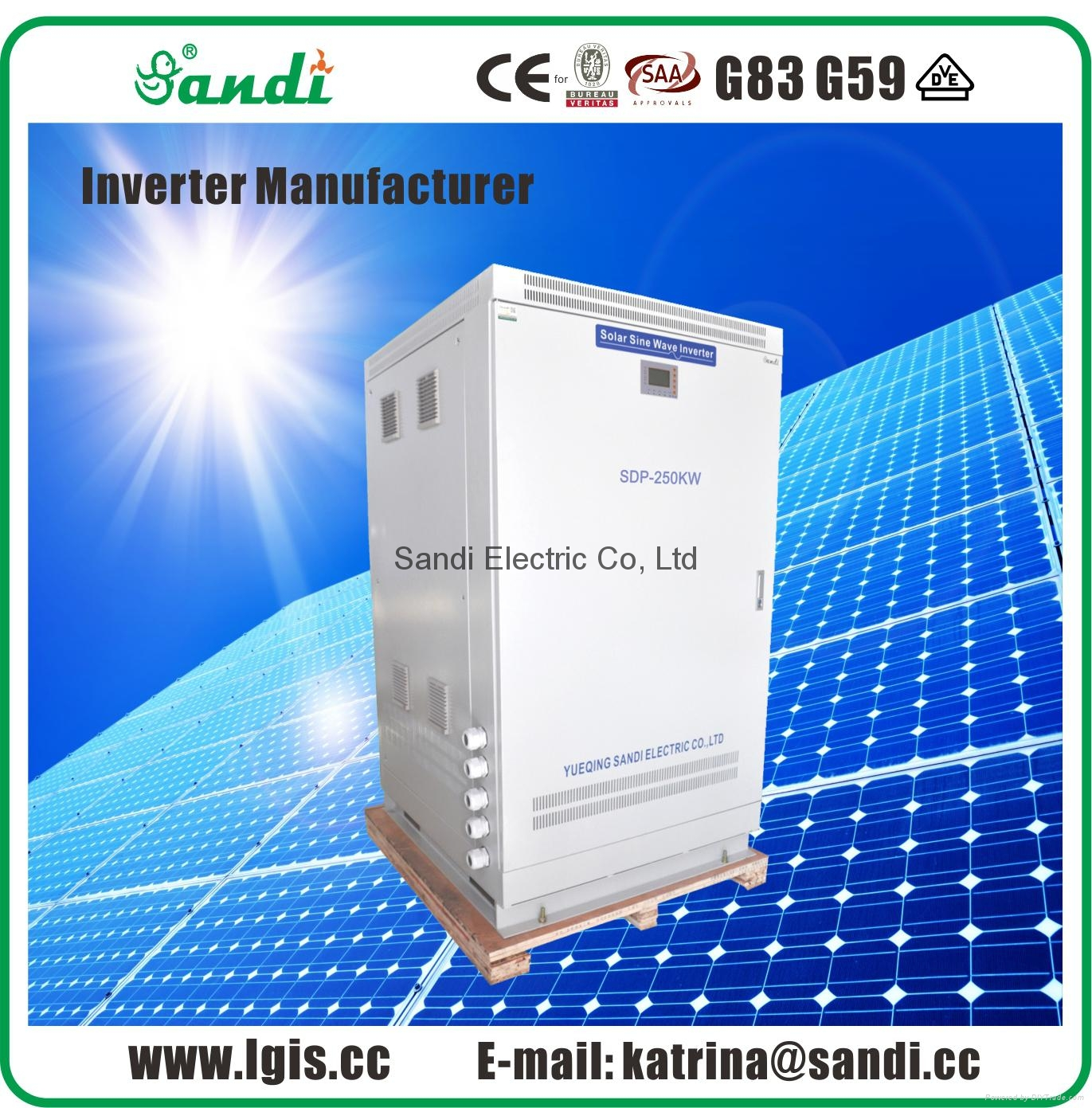 200kw off grid inverter
